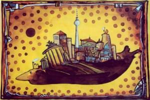 Berliner Ausflug Zeichnung: Petra Elsner